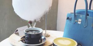 Singapore Coffee Maker Invented A Fluffy Cotton Candy Cloud Drips A 'Rain' Of Sugar Into A Coffee Cup