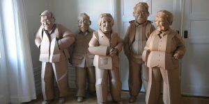 Life-Size Cardboard Figures By Warren King