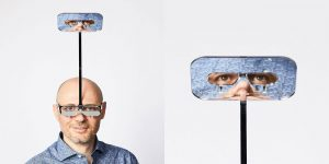 Artist Dominic Wilcox Invents Glasses That Allow Short People To See The World From 'Above'