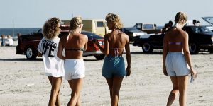 Nostalgic Photos Of American Teenage Girls At Texas Beaches During The 1980s