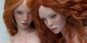 Russian Couple Creates Stunningly Realistic Dolls That You'll Want To Have On Hand
