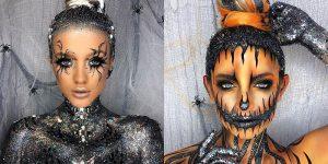 Go Get Glitter: The Superb Creative Glitter Makeup Ideas For Halloween