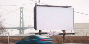 Creative Agency Buys $10k Of Blank Ad Space To Give Everyone A Break From Ads