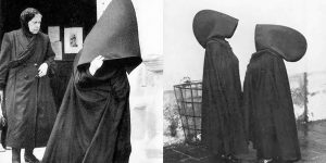 Amazing Vintage Photos Of Portuguese Women From The Azores Islands In Their Tradition Hooded Capes
