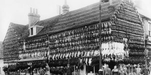 In the Days Before Fridges: Vintage Photographs Show Butcher Shop Fronts In The Victorian Era