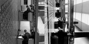 Stunning Interior Views Of The Central Social Institution In Prague, Czechoslovakia, 1937