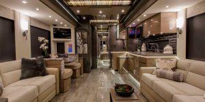 A $2 Million Porsche-Designed RV Has A Full Bedroom And Bathroom