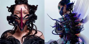 The Superb Bizarre AR Artworks By Nikita Replyanski, A Technological Artist And Cyber Fashion Designer