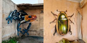 Sergio Odeith Creates Amazing 3D Murals That Jump Off The Walls