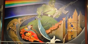 What's Up With The Creepy Apocalyptic Paintings In Denver International Airport?