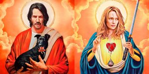 Artist Imagines How Pop Culture Characters Would Look If They Were Saints