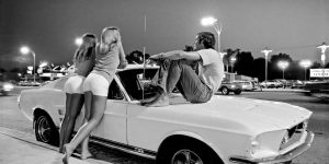 Cruising Van Nuys Boulevard In The Summer Of 1972 In Stunning Black And White Photos By Rick McCloskey