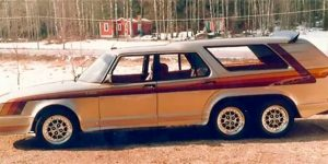 1981 SAAB 906 Turbo, Sweden's 6-Wheeled Colossal With Full Variety of Gadgets