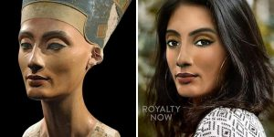 Here's What Nefertiti And Others Would Look Like If They Were Alive Today