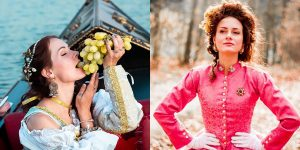 This Young Woman Dresses Like It's The 19th Century Every Day