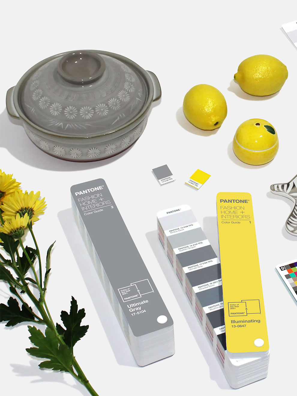 Pantone Unveils Its 2021 Colors of the Year: Pandemic Gray and Bright Yellow