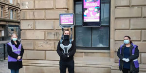 iWalkers: Council Recruits Men with TVs Strapped Above Their Heads to Walk the Streets and Warn Public Not to Break Covid Lockdown Rules