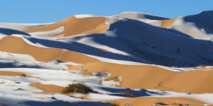 This Is For Real! Sahara Desert Is Witnessing Snow