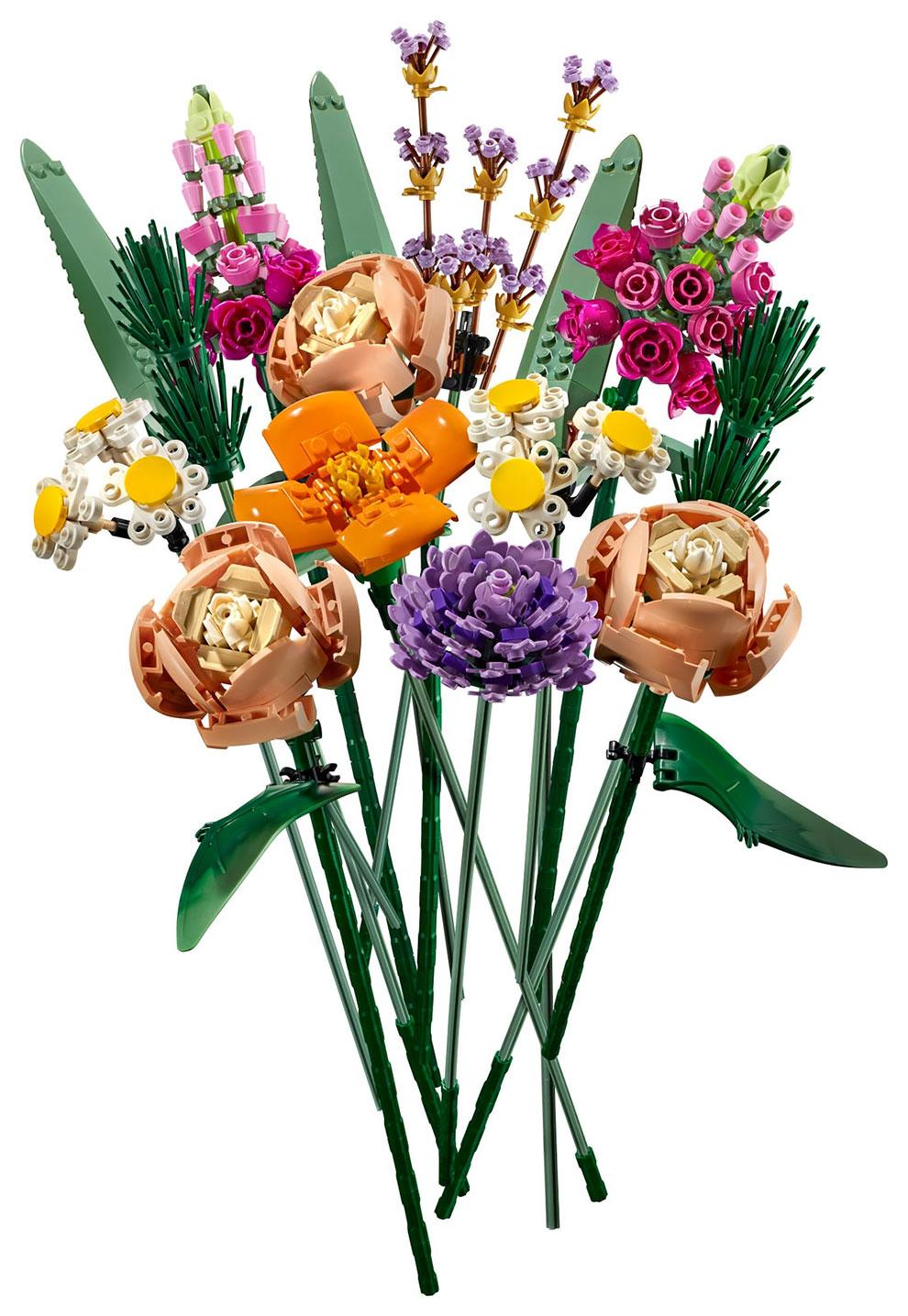 Plastic Beauty Lego Unveils New Flower Bouquet Collection