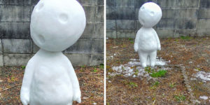 This Japanese Artist Makes Sculptures Out Of Snow, And Here Are The Coolest Ones