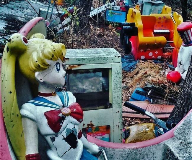 Plenty of Old Carney Magic Still Haunts This Abandoned Photogenic Amusement Park in South Korea