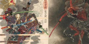 Star Wars Characters as Classical Japanese Art