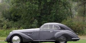 Brutal 1938 Alfa Romeo 8C 2900B Lungo Touring Berlinetta