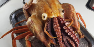 Cthulhu Turkey: It's a Turkey Stuffed With Octopus That People Actually Make