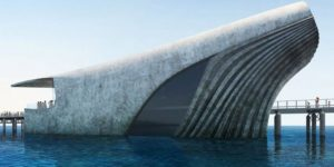 Whale-Shaped Marine Observatory Will Let Visitors Take A Look Under the Sea