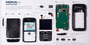 This Company Turns a Disassembled Smartphone Into Decor for Your Home