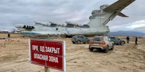 Explorer Visits Abandoned and World's Largest Ekranoplan, Here Are Some Great Pictures of The Inside and Outside