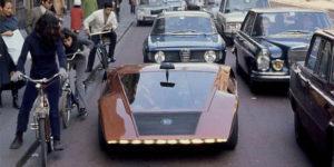 1970 Lancia Stratos Zero: A Crazy Concept from The Wedge Era