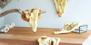 New Naaan Bread Clocks Made from Real Bread Take Inspiration from Dali and a Japanese Pun