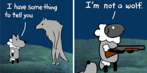 Hilarious Comics With Unexpectedly Dark Endings By 'Perry Bible Fellowship'