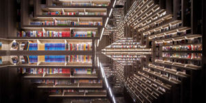 An Optical Illusion Bookstore in China
