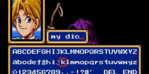 When Retro RPG Lets You Name The Main Character…