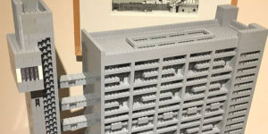 Artist Spent 2 Years and 10,000 Lego Pieces Building This Brutalist House