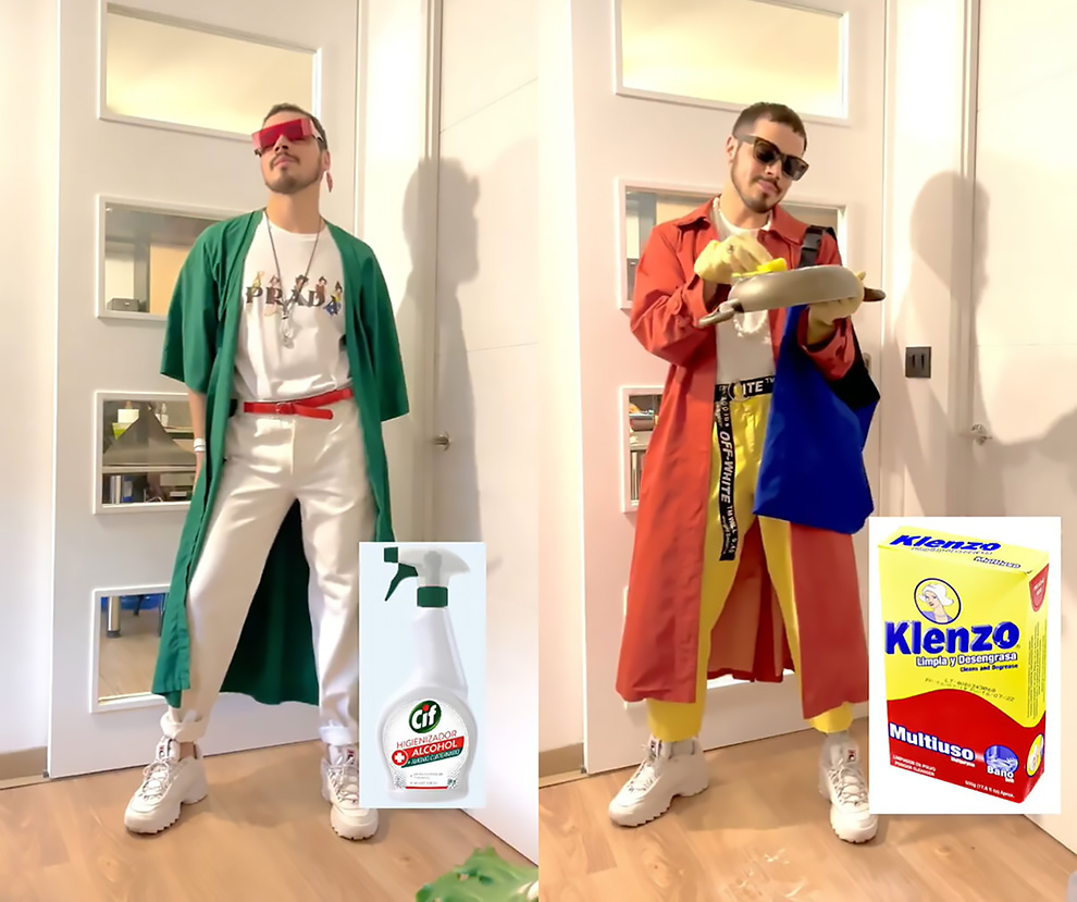 This Designer Creates Stylish Looks Inspired By Cleaning Products, Foods, And Drink