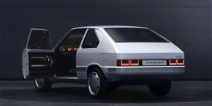 Futuristic and Retro, Hyundai Transforms First-Generation 1975 Pony with Electric Powertrain