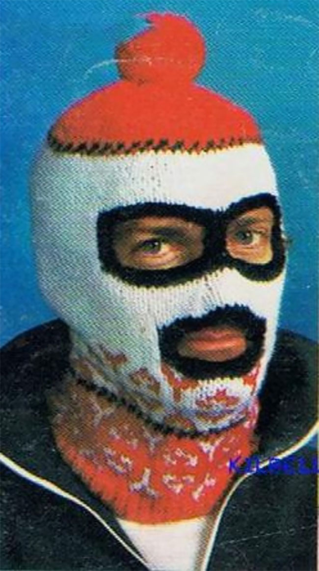Weirdly Wonderful Vintage Balaclava Knitting Patterns From the 1960s and 1970s