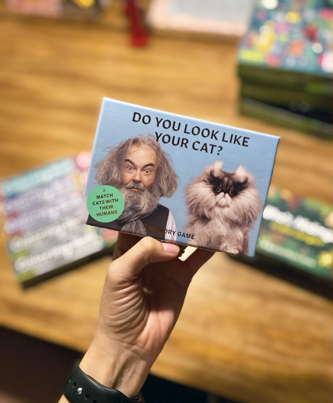"""""""Do You Look Like Your Cat?"""" A Memory Game: Match The Cats with Their Humans!"""