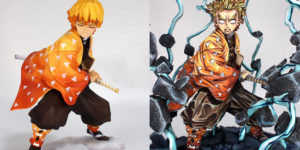 Artist Turns Generic Figurines into Ultra-Realistic Sculptures of Anime Characters