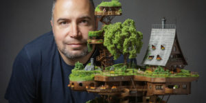 Aerial Photographer Created A Miniature Utopian Village And It Took Him 2 Years To Finish