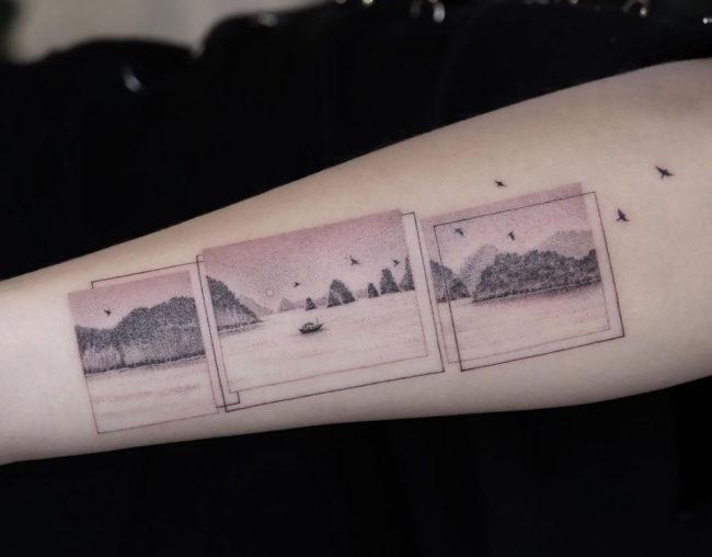 The Incredible Delicated Tattoos of Eva Karabudak