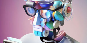 """Self-Portraits 2050"": Stunning 3D Series by Omar Aqil"