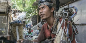 Indonesian Man Creates a 'Bionic Arm' from Scrap Metal