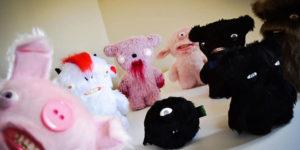Terrifying Plush Toys by Anna Sternik