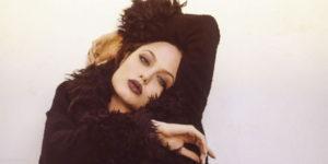 Angelina Jolie at 1995 Marcel Indik Photoshoot