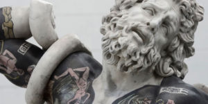 Italian Artist Proves Tattoos Look Good On More Than People's Skin By Putting Them On His Sculptures