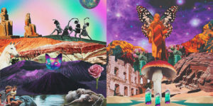 """""""The Society of Fatigue"""": The Spiritual & Psychedelic Collages by Anarkoiris"""